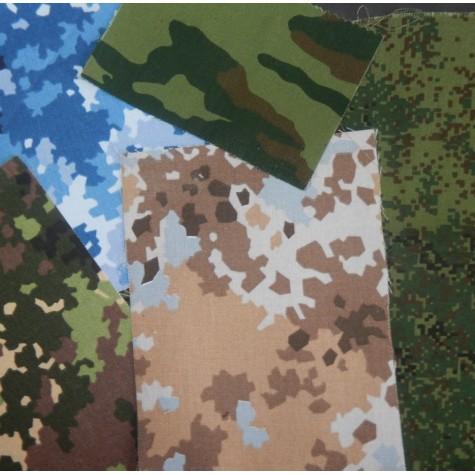 Диагональ КМФ пл. 230г шир. 150см рисунки Флора, Цифра, Излом