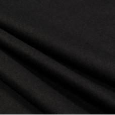 Фланель черная шир. 75см