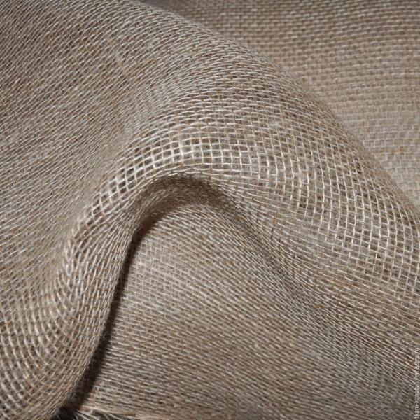 Ткань упаковочная пл. 190г, 50%-лен, 50%-джут, шир. 95см ГОСТ 5530-81