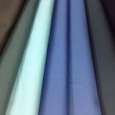 Саржа 100%-хл. пл. 240г синий, серый, белый, черный (серн. крашение); цена от 500м