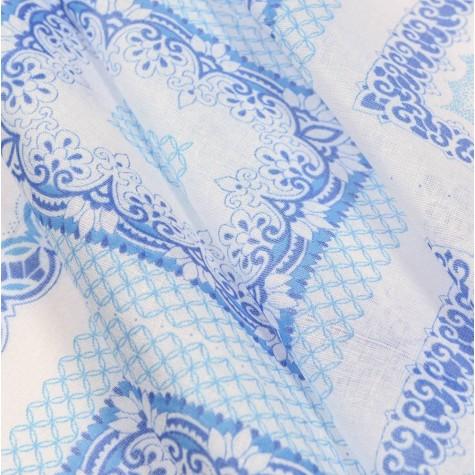 Ситец платочный пл. 65г шир. 80см (на головные, носовые платки)