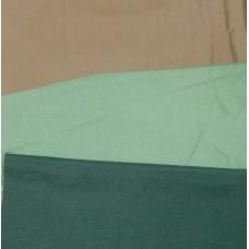 Ткань сорочечная ВО пл. 133г/м2, 55%-хл., 45%-пэ, ш. 150см бежевый, салатовый, т.-зеленый