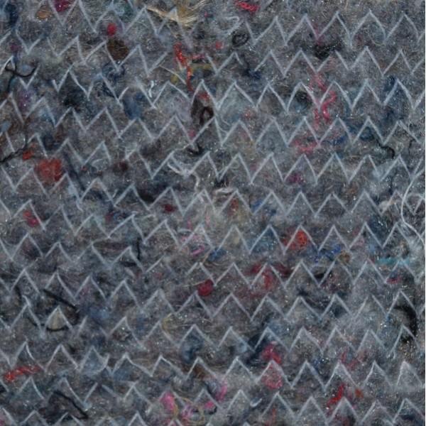 Ватин полушерстяной пл. 260г, 30%-шерсть, 70%-хл., шир. 150см, утвержденный